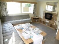 Modern Double Glazed Central Heated Holiday Home Static Caravan For Sale Skipsea Sands