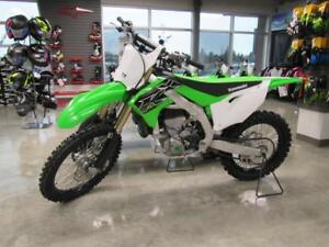The all New 2019 KX 450 with E Start, call Coopers Motorsports!