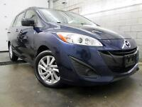 2012 Mazda 5 AUTOMATIQUE A/C MAGS BLUETOOTH 68,000KM 6 PASSAGER