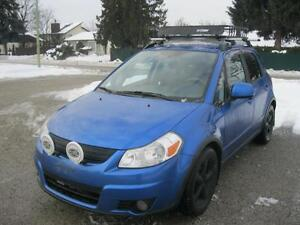 2007 Suzuki SX4 AWD SKI RACK-LOCAL-1 OWNER!