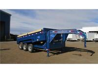 2016 GOOSENECK DUMPBOX 16FT TRIPLE AXLE (21,000 LB GVW)