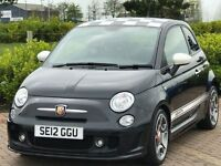 ABARTH 500 1.4 ABARTH 3d 135 BHP (black) 2012