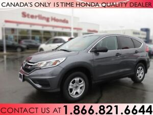 2016 Honda CR-V LX | HONDA PLUS | 1 OWNER | NO ACCIDENTS