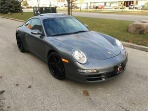 2008 PORSCHE 911 CARRERA 4 6SPD 997 SUNROOF AWD