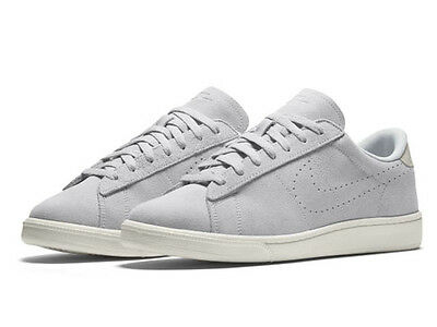 brand new 34dba aad97 Men s Nike Tennis Classic CS Suede Platinum White  829351-001 Sz 7.5 7