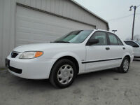 CERTIFIED LOW KM WELL MAINTAINED MAZDA PROTEGE 2.0L