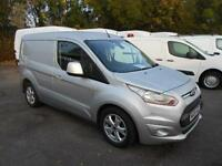 Ford Transit Connect 1.6 TDCI 115Ps LIMITED VAN DIESEL MANUAL SILVER (2014)