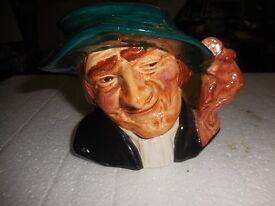TOBY JUG RAT CATCHER OLD COURTWARE