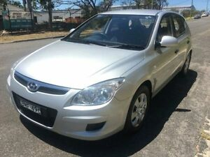 2009 Hyundai i30 FD MY10 SX Silver 4 Speed Automatic Hatchback Macquarie Hills Lake Macquarie Area Preview