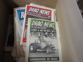 SANTA POD DRAG RACING MAGS AND PHOTOS FOR SALE BEDFORD USA OZ UK ITEMS