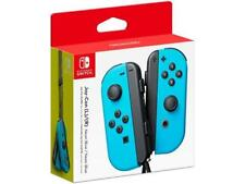 Nintendo Switch Joy-Con Controllers Wireless Left/Right  - Neon Blue