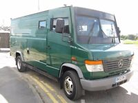 Mercedes 814 Security Van Armour Plated