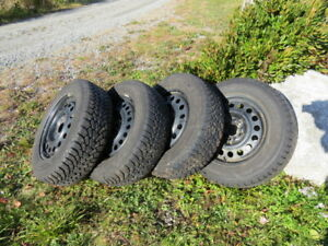 GoodYear Nordic Winter Studded Tires