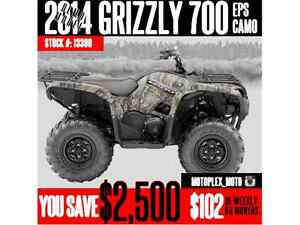 Yamaha Grizzly 700 EPS Camo @ Blowout Pricing