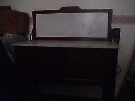 edwardian mahogany washstand