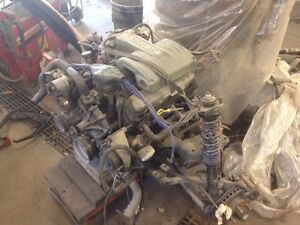 COMPLETE 1988 MUSTANG 5.0 H.O 5spd DRIVETRAIN 373 REAR END 100k