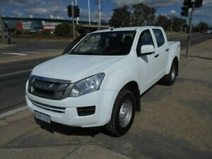 2014 Isuzu D-MAX MY14 SX Crew Cab White 5 Speed Sports Automatic Utility Fyshwick South Canberra Preview