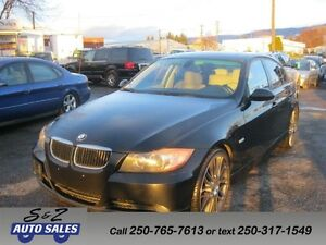 2008 BMW 328i BLACK ON BROWN MINT! MUST SEE!
