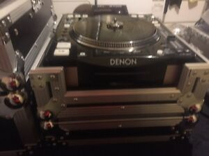 DENON 3700 CD PLAYER WITH CASE(BUILT IN FAN)
