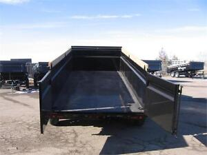 "Gooseneck Dumpbox 83""x16Ft Triple Axle (21,000 Lbs GVW)"