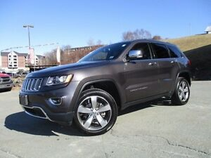 2016 Jeep GRAND CHEROKEE Limited 4X4 V6, NAV, LOADED! 16K