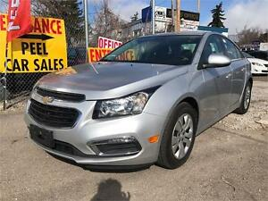 2015 Chevrolet Cruze 1LT|ACCIDENT FREE|35K|BACK-UP CAM|