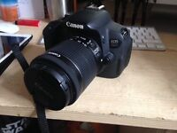 CANON 700D WITH PROTECTIVE BAG AND STANDARD LENS