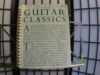 Six Classical Guitar Music Books For Performing At Weddings [collection one of two]