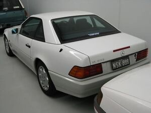 1994 Mercedes-Benz SL500 R129 White 5 Speed Automatic Convertible Ascot Brisbane North East Preview