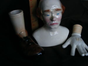 """DOLL MAKERS FOR SALE HEAD,HANDS ,FEET,CLOWN """"LOOK"""" Peterborough Peterborough Area image 5"""