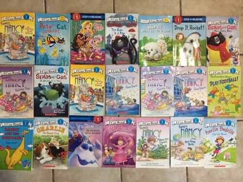 Lot of 10 Level 1 Step into Reading - My First I Can Read-Learn Books-random mix