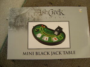 Ash Creek Trading Mini Blackjack Table Game