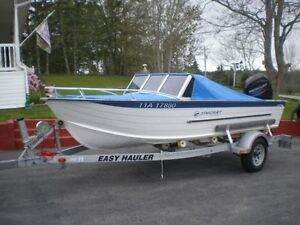 StarCraft SS16 with Outboard Motor and Trailer