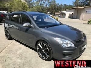 2009 Hyundai i30 FD MY09 CW Sportswagon 2.0 Grey 4 Speed Automatic Wagon Lisarow Gosford Area Preview