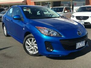 2013 Mazda 3 BL Series 2 Maxx Sport Blue Manual Colac West Colac-Otway Area Preview