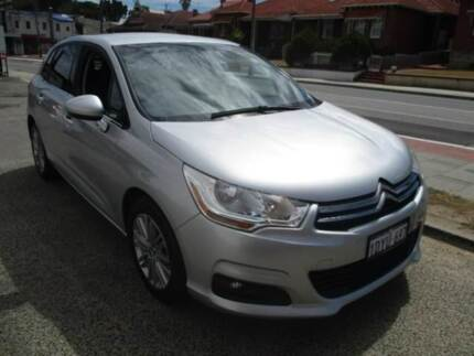2012 Citroen C4 Silver Sports Automatic Hatchback West Perth Perth City Area Preview