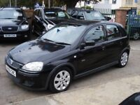 Vauxhall CORSA 1.4 i 16v SXi 5dr, 2005 model, Long MOT, cheap runabout