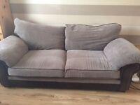 3 seater sofa - Brown