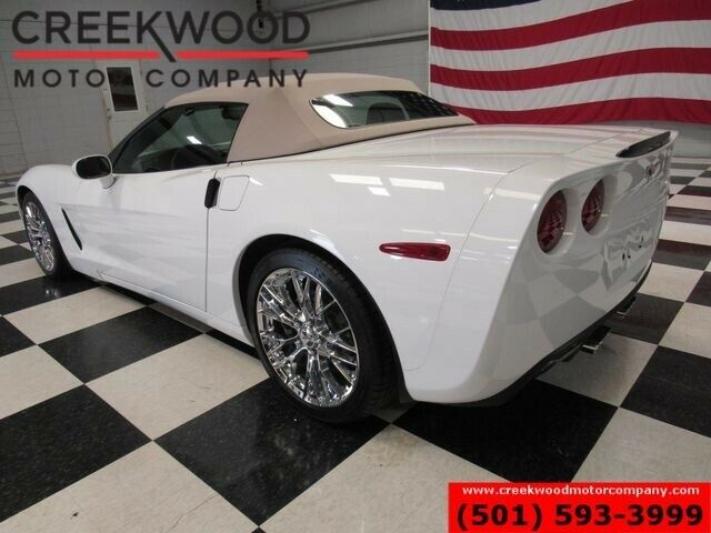 2012 White Chevrolet Corvette Convertible 3LT   C6 Corvette Photo 3