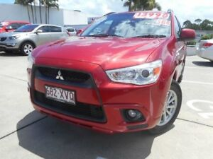 2010 Mitsubishi ASX XA MY11 Red 6 Speed Constant Variable Wagon