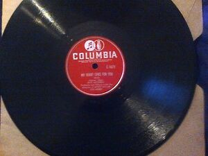 GUY MITCHELL LOST 78 RPM MY HEART CRIES FOR YOU THE ROVING KIND
