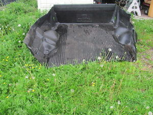 Toyota sized truck bed liner, with gate cover