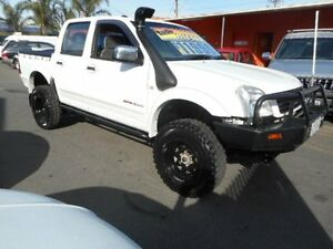 2003 Holden Rodeo RA LX (4x4) White 5 Speed Manual Crewcab Plympton Park Marion Area Preview