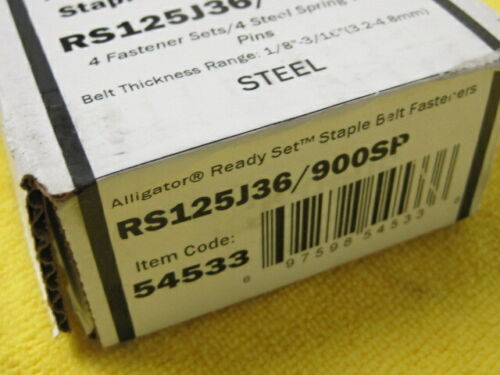Flexco 54533 Alligator Ready Set Staples RS125J36/900NCS