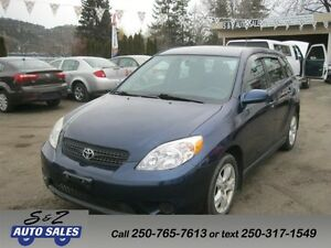 2005 Toyota Matrix XR4 door Hatchback automatic