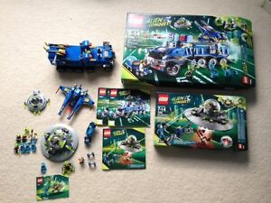 Lego Alien Conquest lot of 3 sets USED