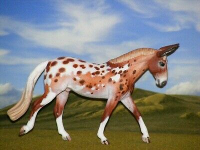 OOAK Breyer cm Custom Stablemate Horse RESCULPT  to a  Mule by D. Williams *