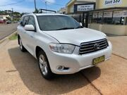 2009 Toyota Kluger GSU40R Grande (FWD) White 5 Speed Automatic Wagon Port Macquarie Port Macquarie City Preview