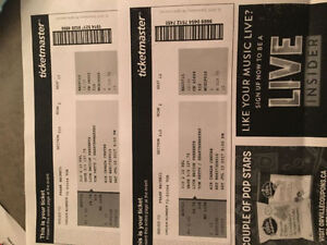 Tom Petty in Toronto 2 tickets