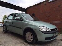 Vauxhall Corsa 1.2 i 16v Comfort 5dr GENUINE 35,000 MILES FROM NEW